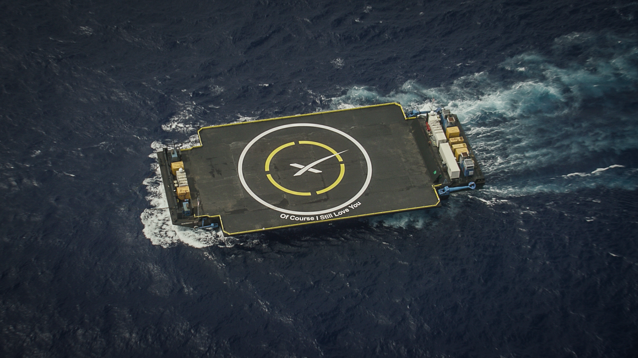 SpaceX Autonomous Spaceport Drone Ships - OCISLY