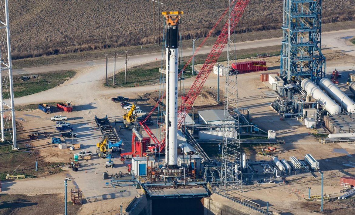Falcon 9 Block 5 Under Construction