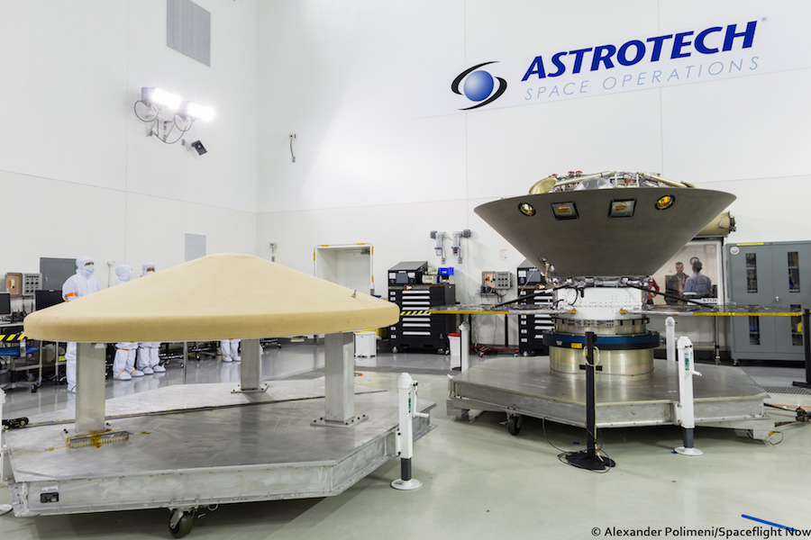 NASA InSight Lander attaches to Atlas 5 Rocket
