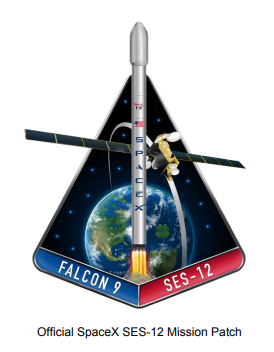 Official SpaceX SES Mission Patch