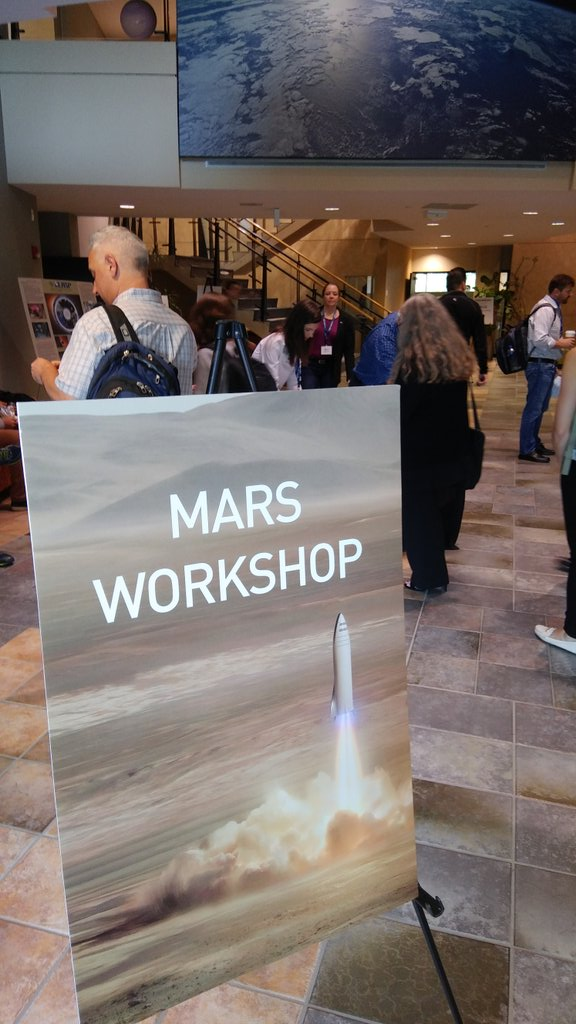 SpaceX Mars Conference